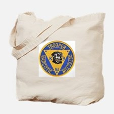 New Jersey State Police K-9 Tote Bag