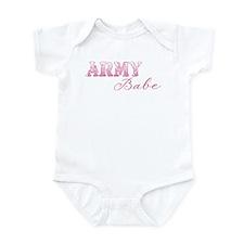 Cute Sexy army wife Infant Bodysuit