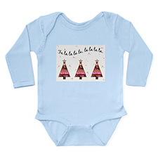 FA LA LA LA Long Sleeve Infant Bodysuit