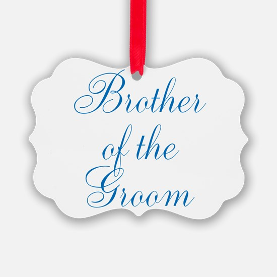 Brother of the Groom Ornament