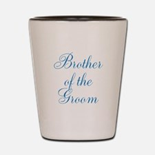 Brother of the Groom Shot Glass