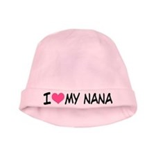 I Heart My Nana baby hat