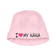 I Heart My Nana baby hat