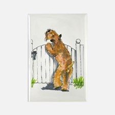 Cute Wheaton terrier Rectangle Magnet