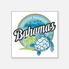 Bahamas Rectangle Sticker