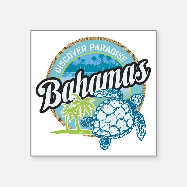 Bahamas Rectangle Sticker