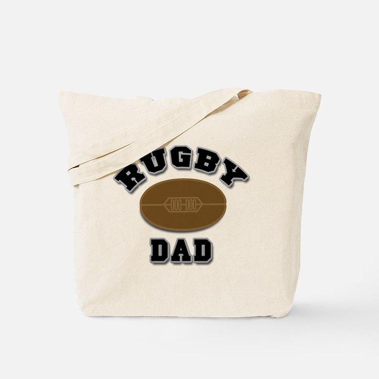 Rugby Dad Tote Bag