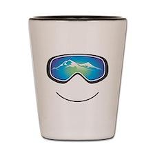 Happy Skier/Boarder Shot Glass