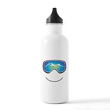 Happy Skier/Boarder Water Bottle