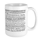 English grammar Large Mugs (15 oz)