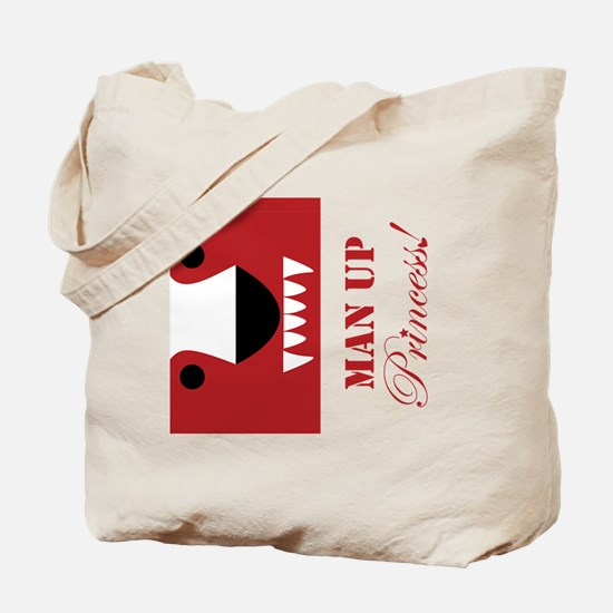Man Up Princess Buffer Tote Bag