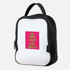 Keep Calm Neoprene Lunch Bag
