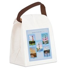 Lighthouses of the Outer Banks Canvas Lunch Bag