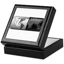 world peace pill Keepsake Box