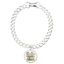 Heart With Soldier Charm Bracelet, One Charm