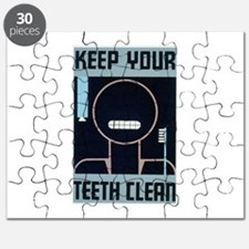 Keep Your Teeth Clean Puzzle