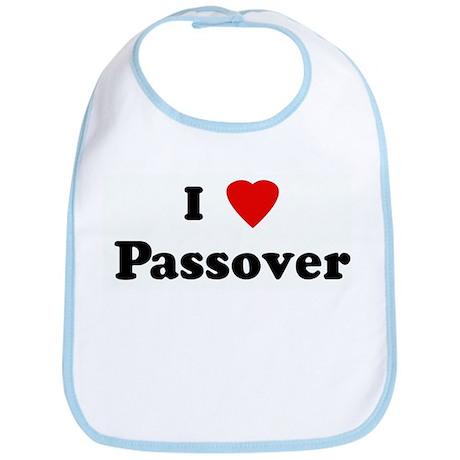 I Love Passover Bib