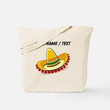 Custom Sombrero Tote Bag