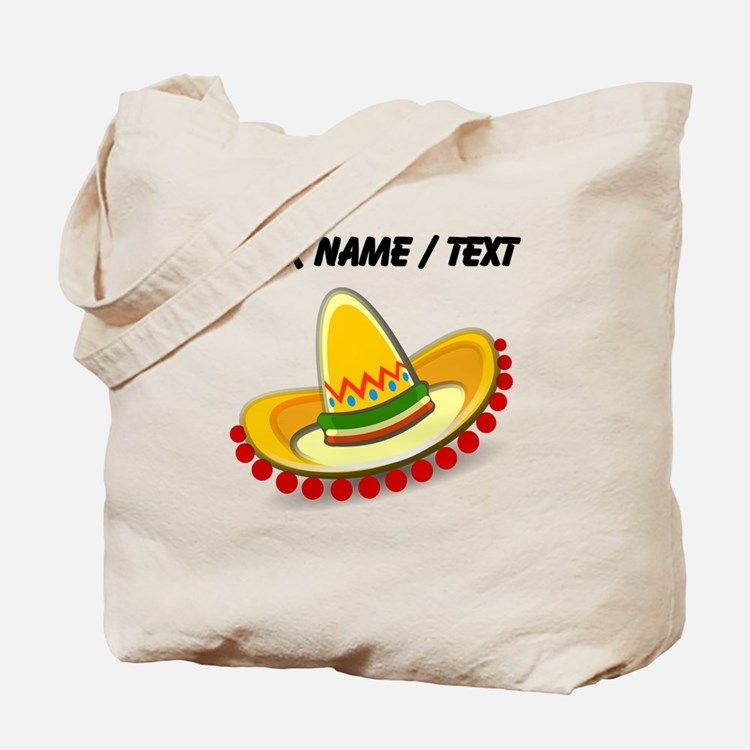 Custom Sombrero Tote Bag