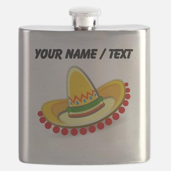 Custom Sombrero Flask