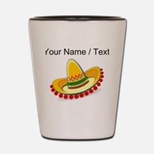 Custom Sombrero Shot Glass