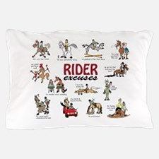 Rider Excuses Pillow Case
