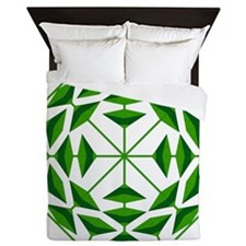 Eclectic Flower 351A Queen Duvet