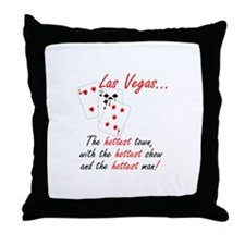 Hottest Show Throw Pillow