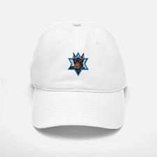 Hanukkah Star of David - Dobie Baseball Baseball Cap