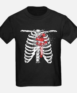 Heart of a Skater Ribcage T-Shirt
