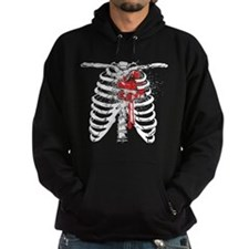 Heart of a Skater Ribcage Hoodie