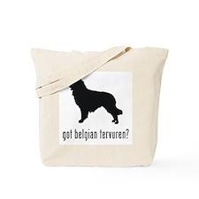 Belgian Tervuren Tote Bag