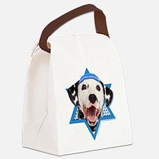 Hanukkah Star of David - Dalmatian Canvas Lunch Ba