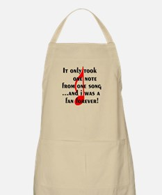 One Note BBQ Apron