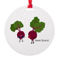 Beet Boxin' Ornament