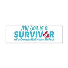 CHD Survivor - Son Car Magnet 10 x 3