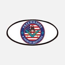 Band Of Brother Masons Patches