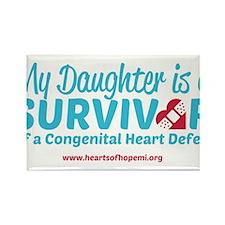 CHD Survivor - Daughter Magnets
