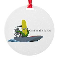 Corn On The Bayou Ornament