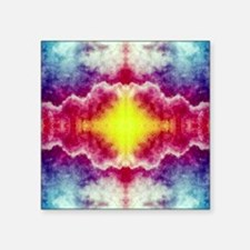 """Groovy Colors Square Sticker 3"""" x 3"""""""