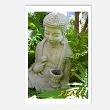 Buddha Peace in the Garden Postcards (Package of 8