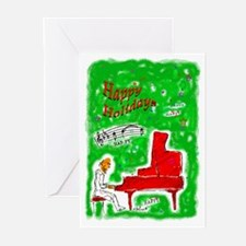 Pianoman Greeting Cards (pk Of 20)