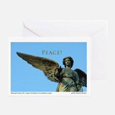 Bethesda Angel Peace Greeting Cards (pk Of 20)