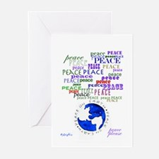 Peace Please Greeting Cards (pk Of 20)