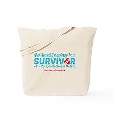 CHD Survivor - Grand Daughter Tote Bag