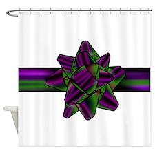 violetgreenbow Shower Curtain