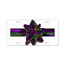 violetgreenbow Aluminum License Plate