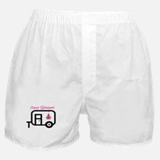 Happy Glamper! Boxer Shorts