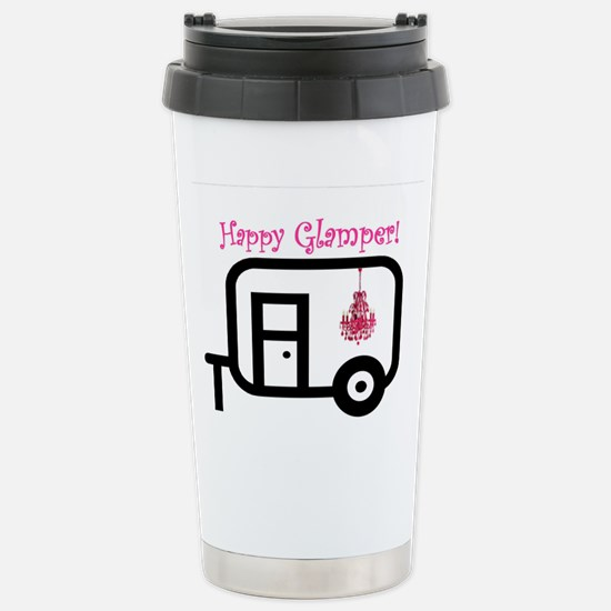Happy Glamper! Travel Mug
