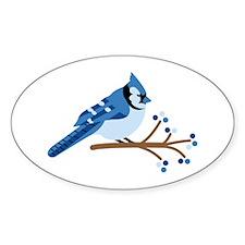 Christmas Blue Jays Decal